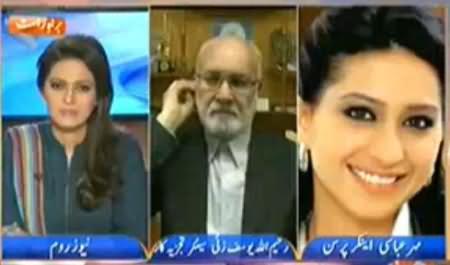 Meher Abbasi Criticizing Imran Khan and His Favourite Anchor Mubashir Luqman