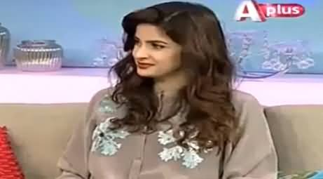 Mein 5 Waqt Ki Namazi Hoon - Saba Qamar Telling Her Personal Activities