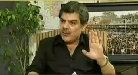 Mein Aisi Jamhoriyat Par Lanat Bhaijta Hoon - Mubashir Luqman Cursing the Govt