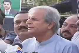 Mein Judges Se Kehta Hoon, Apna Kaam Karein - Javed Hashmi Media Talk on IHC Verdict