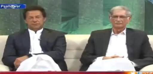 Mera Vote Abhi Nahi Bana, Lekin Mein Aap Ki Supporter Hoon - Live Caller To Imran Khan