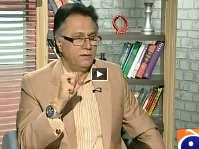 Meray Mutabiq with Hassan Nisar (Hassan Nisar May Leave Journalism) - 27th April 2014