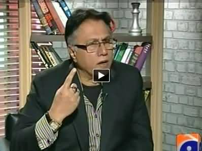 Meray Mutabiq with Hassan Nisar - 6th April 2014