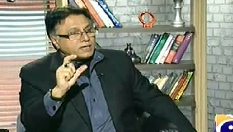 Meray Mutabiq with Hassan Nisar (Attack on Hamid Mir) - 20th April 2014