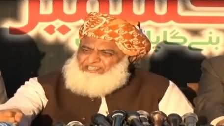 Mere Hote Huwe Kashmir Ka Sauda Nahi Ho Saka, Mere Jaate Hi Kashmir Baich Dia - Fazal ur Rehman