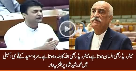 Meter Reader Bhi Insan Hota Hai - Murad Saeed About Khursheed Shah in Assembly