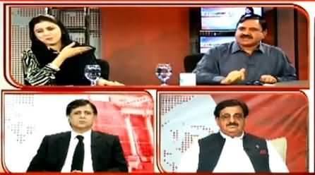Mian Abdul Mannan Shouting on Naz Baloch in Live Show & Talking Non Sense