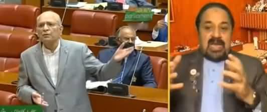 Mian Ateeq Tells The Reason of His Fight With Mushahid Ullah Khan in Senate