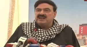 Minister For Railways Sheikh Rasheed Ahmad Media Talk - 25th January 2020