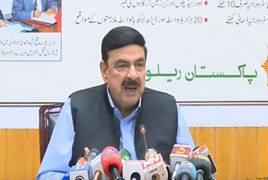Minister For Railways Sheikh Rasheed Ahmad Press Conference - 8th June 2019