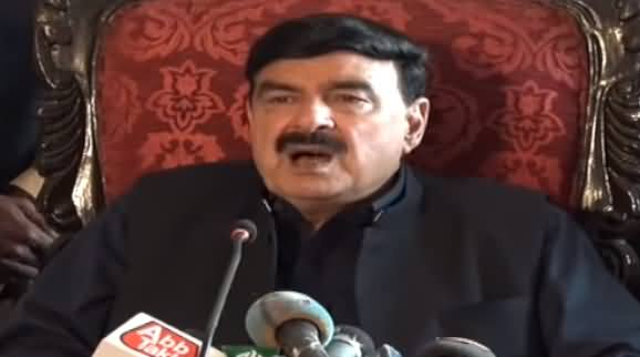 Minister For Railways Sheikh Rasheed Ahmad Press Conference - 9th May 2019