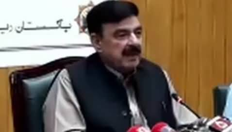 Minister for Railways Sheikh Rasheed's Press Conference – 11th May 2019
