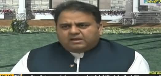 Minister for Science and Technology Fawad Chaudhry Press Conference in Karachi - 11th May 2019