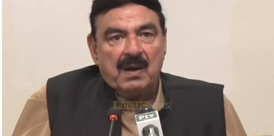Minister of Railways Sheikh Rasheed Ahmad Press Conference - 30th October 2018
