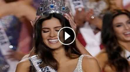Miss Colombia Paulina Vega (Student Girl) Crowned Miss Universe In Miami 2015