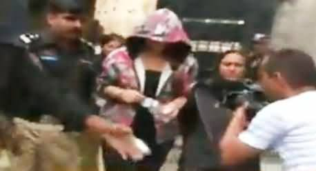 Model Ayyan Ali Appeared in Court & Made Every One Surprise with Her New Look