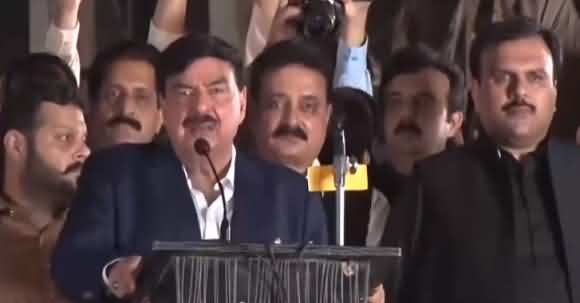Modi If You Continue Making Trouble For Kashmir's Than Pakistan Will Make Trouble For Whole India - Sheikh Rasheed Dabang Speech At Nation Day