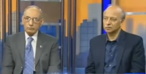Moeed Pirzada & General (R) Amjad Shoaib Discussing What General Raheel Did on Dawn Leaks