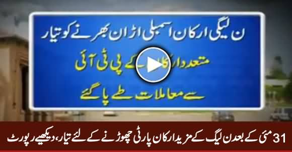 More PMLN Members Are Going To Quit PMLN After May 31