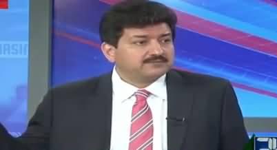 Moulana Fazal ul Rehman Will Not Support Nawaz Sharif for Chairman Senate - Hamid Mir