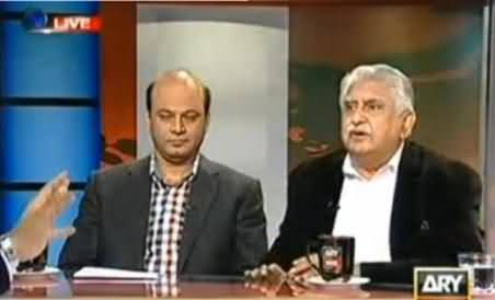 MQM and ANP Both Say if Drone Hit Karachi or Peshawar They Dont Mind