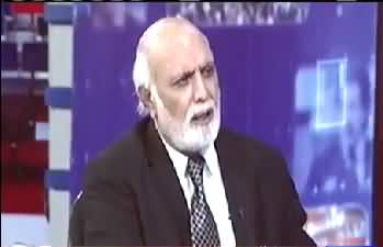 MQM Pakistan Is Still In Contact With Altaf Hussain, Farooq Sattar Is Not Leader - Haroon Rasheed