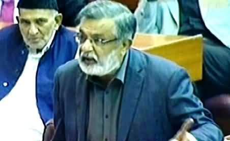 MQM Rasheed Godial Speech in Parliament, Demands 20 Provinces - 18th September 2014