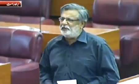 MQM's Rasheed Godil Complete Speech Against PMLN in Parliament - 24th June 2015