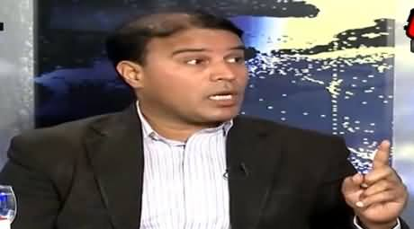 MQM's Sajid Ahmad Badly Trapped in His Own Stupid Arguments While Defending Altaf Hussain