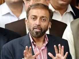 ایم ۔کیو۔ایم برطانیہ کو کراچی سمجھ بیٹھی۔برطانوی ادارے اپنی حدود سے تجاوز کرر ہے ہیں۔فاروق ستار