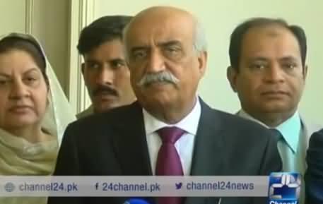 MQM Was Baby of Establishment, Now It Has Grown Up - Khursheed Shah