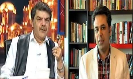 Mubashir Luqman Badly Insulted by Talat Hussain in Live Program
