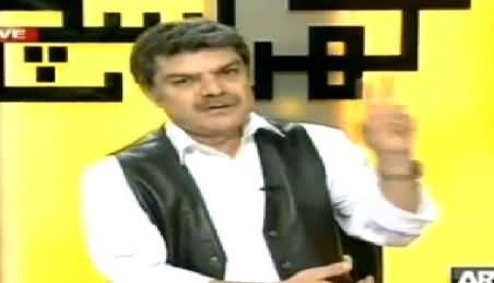 Mubashir Luqman Blames That Imran Khan Also Conducted 2 Punctures in 11th May Elections