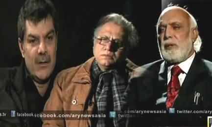 Mubashir Luqman, Hassan Nisar and Haroon Rasheed Views About Taliban