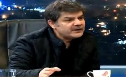 Mubashir Luqman Ne Live Show Mein Altaf Hussain Ko Gaali De Di, Must Watch