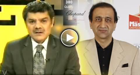 Mubashir Luqman Says Mir Shakeel ur Rehman is Jahanumi (Dozkhi)