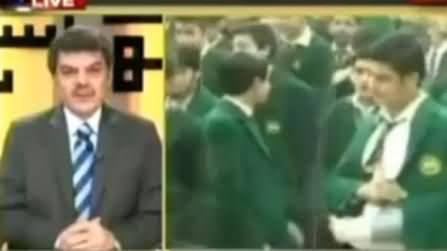 Mubashir Luqman Telling What Message APS Students Gave to Pakistani Rulers