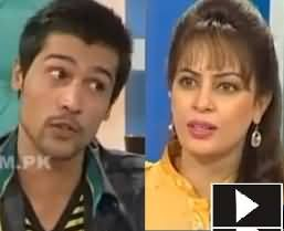 Muhammad Amir Cricketer Exclusive Interview with Farah in Morning with Farah - 3rd August 2013