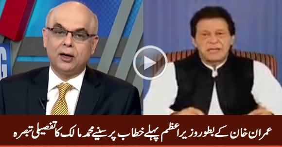 Muhammad Malick's Detailed Comments on PM Imran Khan's Speech