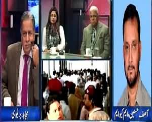 Mujahid Live (Dialogue with MQM & Attack on Rasheed Godil) – 18th August 2015