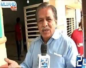 Mujahid Live (Karachi Mein Garmi Se Amwaat) – 23rd June 2015