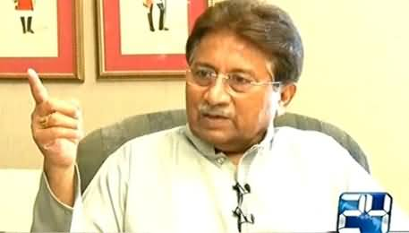 Mujahid Live (Pervez Musharraf Exclusive Interview) – 3rd October 2015