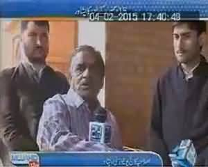 Mujahid Live (Special From Islamia College University Peshawar) - 4th February 2015