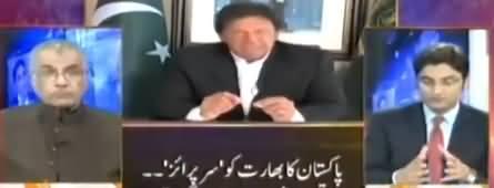 Mujeeb ur Rehman Shami Praises PM Imran Khan on His Wise Reply to India