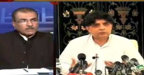 Mujeeb-ur-Rehman Shami Telling the Detail of Differences Between Nawaz Sharif & Chaudhry Nisar