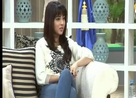 Mujhey Drama Mein Sirf Roone Ke Paise Miltey Hain - Actress Ushna