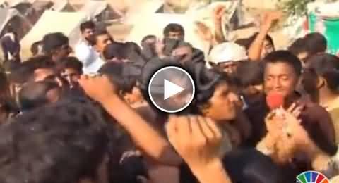 Multan Flood Victims Chant Go Nawaz Go As Soon As Nawaz Sharif Ends His Speech