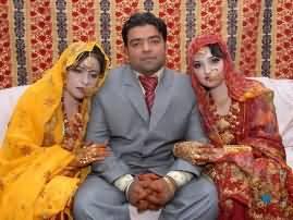 بیک وقت دو کزنز کے ساتھ شادی، تین سال بعد بھی خوشحال ازدواجی زندگی ،دونوں بیویاں خوش