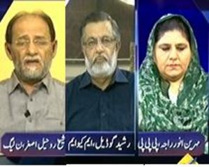 Mumkin - 22nd July 2013 (Imran Khan and MQM Face to Face. Once Again)