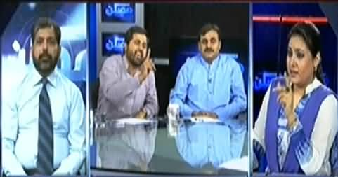 Mumkin (Will Imran Khan Consider to Join Tahir ul Qadri) – 3rd July 2014